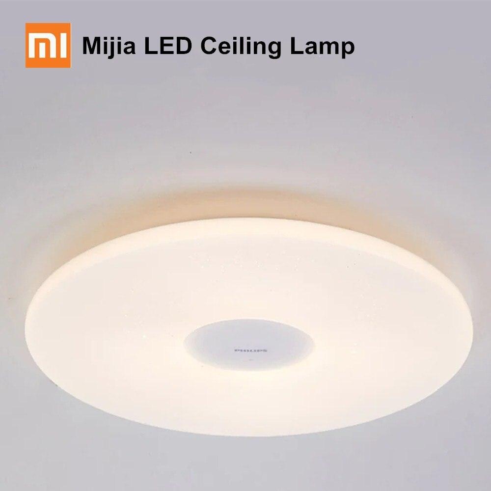 Xiaomi Mijia потолочные светильники Philips светодиодный потолочный светильник защита от пыли приложение беспроводной затемнения AC 100 240 В приложение дистанционное управление