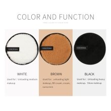 2pcs Makeup Foundation Remover Puff Sponge Powder Double-side Cosmetic Washable Smooth Tool
