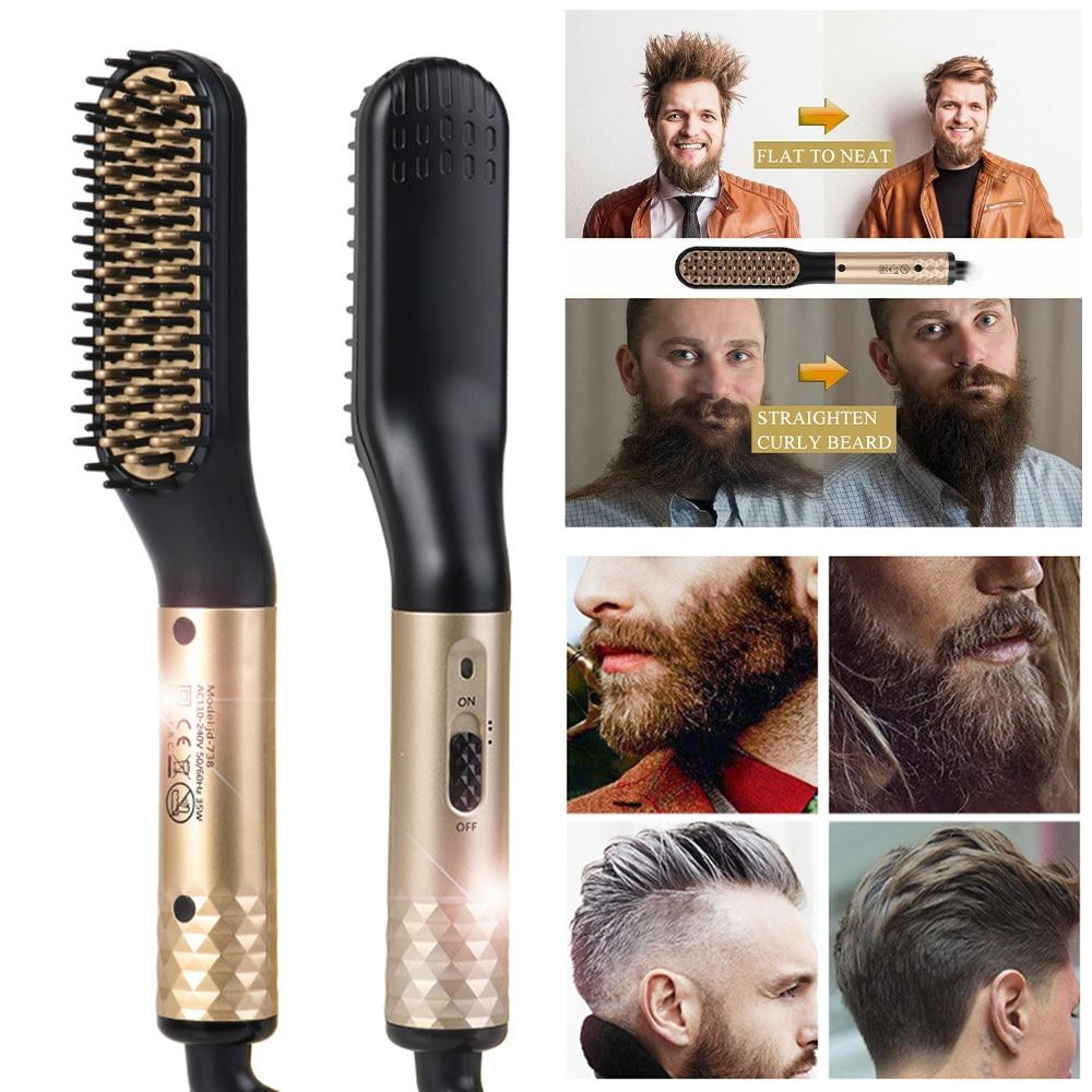 Beard Straightener Brush 3