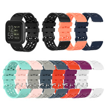 Sport Soft Silicone Strap For Fitbit Versa/Versa 2 Waterproof Wrist Replacement Watch Strap For Fitbit Versa 2 Band soft silicone strap for fitbit versa smart watch replacement high quality sport wrist strap bracelet strap for fitbit versa band