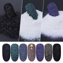 Glitter para decoração de unhas 1 garrafa, brilhante, glitter, pó, areia para unhas, pigmento a laser, glitter, poeira, manicure, lamn