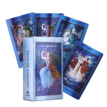 Smith-Waite Centennial Tarot Card English Version Tarrot Cards Set Board Game for Party with PDF Guidebook Holographic