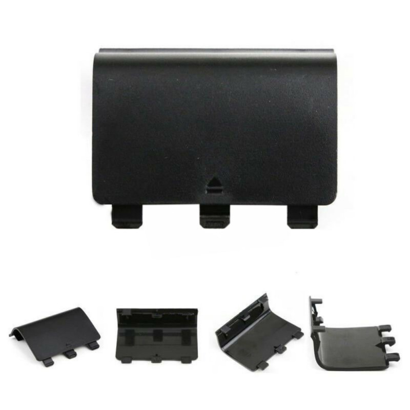 5pcs Battery Pack Back Cover Lid Door Shell For XBox One Wireless Controller