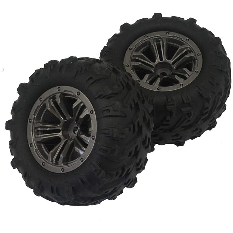 Car Rubber <font><b>Wheel</b></font> Tire Spare Part for XLH 1/16 Q901 Q902 Q903 <font><b>Rc</b></font> Off Road Car <font><b>Rc</b></font> Car Accessories <font><b>Rc</b></font> Parts image