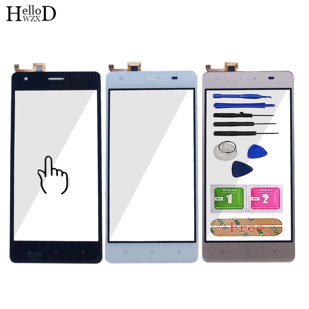 Mobile Touch Screen For JUST5 Freedom M303 Touch Screen Panel Lens Glass Screen TouchScreen Parts Tools 3M Glue Wipes(China)