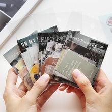 Lomoka stationery Notepad posting notes Tokyo California lovely litmus paper decoration magazine and stationery 30 pieces
