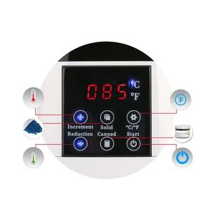 Image 3 - 500CC podgrzewacz wosku maszyna do usuwania włosów wyświetlacz LCD inteligentna maszyna do woskowania SPA ręczne stopy depilator ciała podgrzewacz do wosku i parafiny szybkie nagrzewanie