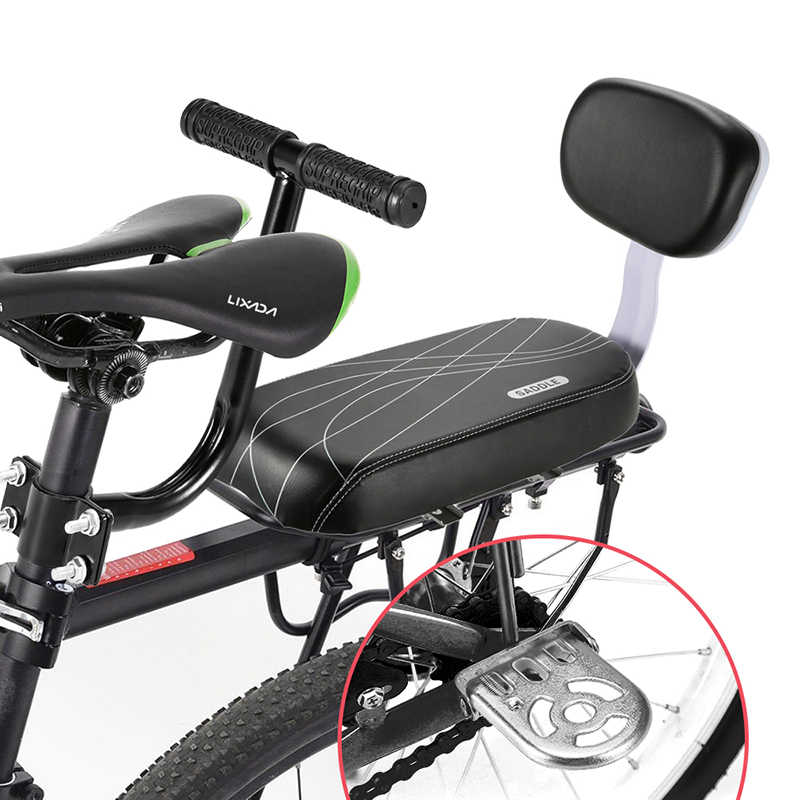 Bicycle Rear Seat Cover Mountain Bike Saddle Cycling Cushion Replacement Parts