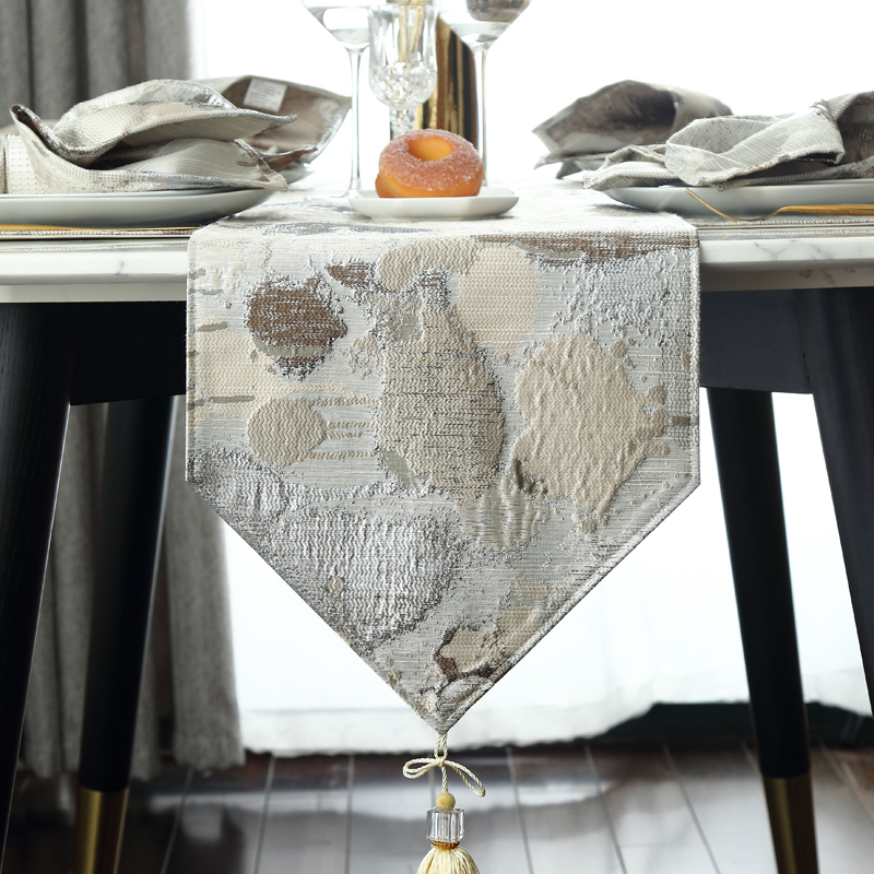 Table Runner Simple Morden Embroidery Blending Bed Flag Table Cloth Dining Room Table Flag Customizable Home Textile Decoration Table Runners Aliexpress