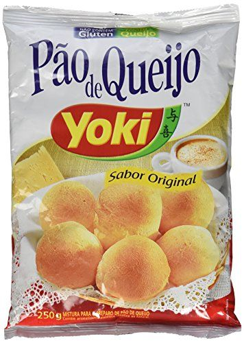 Cheese Bread Mix - Mistura Para Pão De Queijo - Yoki - 8.80 Oz (250g) - GLUTEN-FREE - (PACK OF 04)