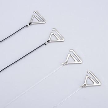 3Pairs=6Pcs Metal Buckle Bra Straps Belt Women's Elastic Transparent Silicone Adjustable Invisible Intimates Women Accessories 5