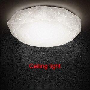 Image 2 - Светодиодный потолочный светильник LB88, лампа в форме алмаза для прихожей, гостиной, кухни, спальни, поверхностного монтажа, 12 Вт/18 Вт/24 Вт/15 Вт/30 Вт