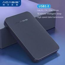ACASIS-disque dur externe HDD, usb 3.0, 2.5 pouces, Portable, haute vitesse, pour PS4,Xbox One/Xbox 360,PC,Mac, ordinateur de bureau, Original