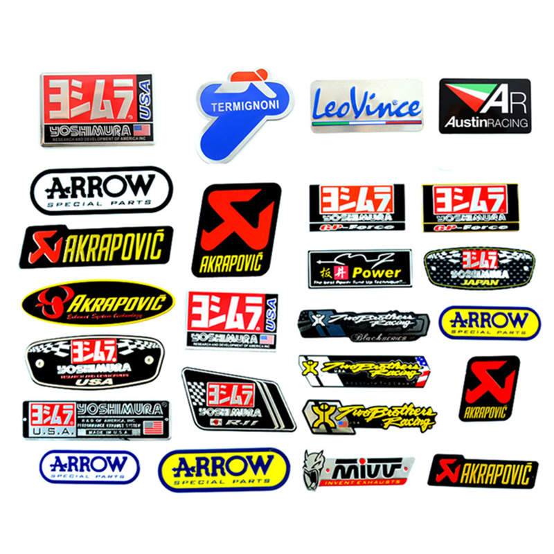 Sticker Arrow Decal Ttr Exhaust-Pipes Scorpio Mivv Yoshimura Heat-Resistant Motorcycle title=