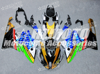 New ABS Motorcycle Complete Whole Fairings Kit for BMW S1000RR 2015 2016 15 16 HP4 Bodywork set Custom Free Golden