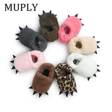 Cute Modeling MUPLYPaw Baby Warm Slippers 2020 Winter Baby Boys Girls Shoes First Walkers Baby Clothing For 0-18M
