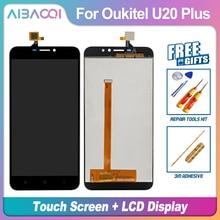 Neue Original 5,5 inch Touch Screen + 1920X1080 LCD Display Montage Ersatz Für Oukitel U20 Plus Android 6.0 MTK6737T telefon
