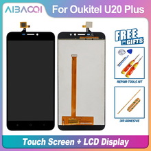 New Original 5.5 inch Touch Screen +1920X1080 LCD Display Assembly Replacement For Oukitel U20 Plus Android 6.0 MTK6737T Phone