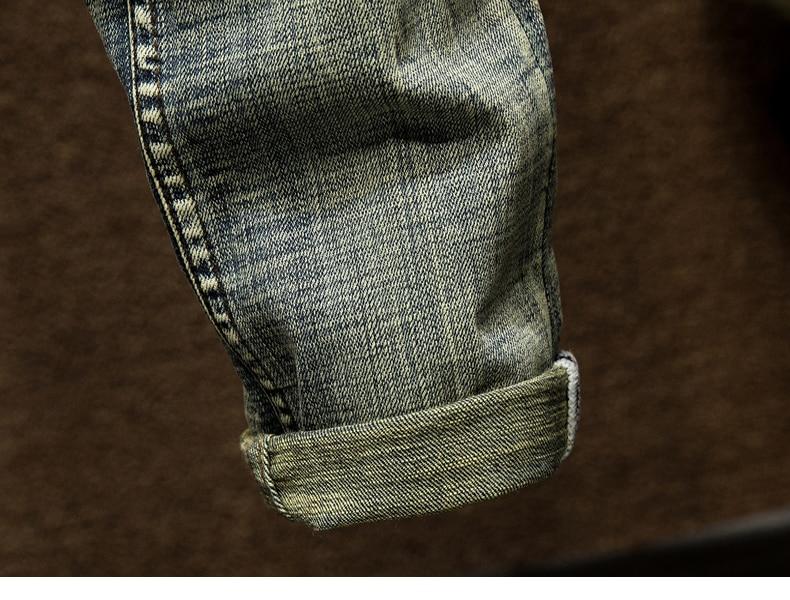 KSTUN Biker Jeans Men's Distressed Stretch Ripped Biker Jeans Men Hip Hop Slim Fit Patchwork Vintage Man Punk Denim Jeans Cotton Pants 18