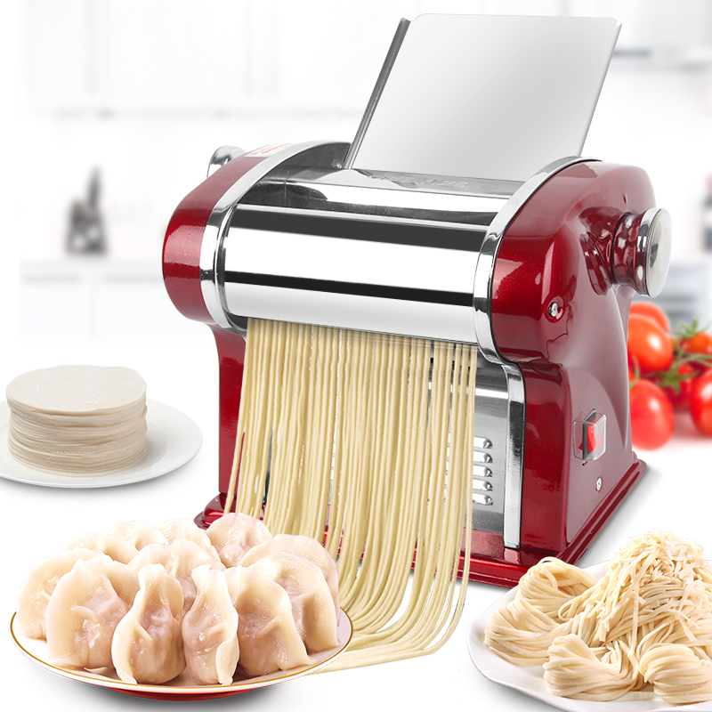 220V EU/AU/UK/US Electric Noodles Machine Automatic Stainless Steel Multi Dumpling Skin Dough Pressing Machine