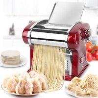 220V ue/AU/UK/US elektryczna maszyna do makaronu automatyczna maszyna do prasowania ciasta ze stali nierdzewnej Multi pierogarnia