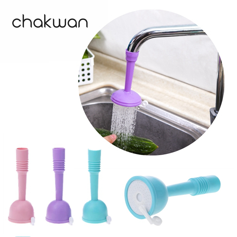 Kitchen Faucets Adjustable Bathroom Faucet Sprayers Tap Filter Nozzle Faucet Regulator Creative Water Saving Kitchen Accessories