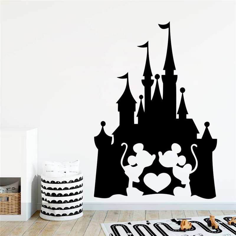 Disney Mickey In The Bath Wall Stickers Kids Rooms Bathroom Home Decor Cartoon Wall Decals Vinyl Wallpaper Diy Mural Art Buy At The Price Of 4 36 In Aliexpress Com Imall Com