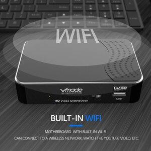 Image 5 - Vmade أحدث الأرضية تلقي DVB T2 كامل HD 1080P DVB T2 H.265 فك موالف دعم بنيت واي فاي يوتيوب AC 3 قمة مجموعة
