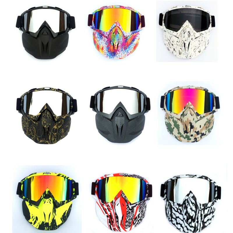 Men's Skiing Snowboard Winter Goggles Mask Winproof Cycling Motocycle Glasses Snowmobile Sunglasses Masque