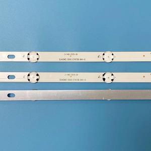 Image 5 - (Nuevo Kit )3 uds. Tira de LED para iluminación trasera 8LED de 850mm para LG 43UH6030 43UF640 HC430DGN SLNX1 UF64_UHD_A 43LH60FHD EAV63192501