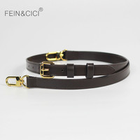 Bag strap 100% genuine leather handbag straps shouder bag belts really oxidation cow leather accessory bags parts 2019 new