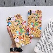 Funda de teléfono de bolsillo de dibujos animados de Ctue para iPhone X Xs Mas Xr 10 7 6 6s 8Plus 11Pro, funda de TPU suave con sensación líquida