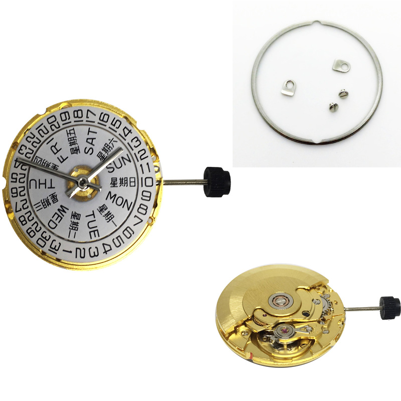 Gold Silver Genuine Mechanical Atomatic Watch Movement For ETA 2836-2 SELLITA SW220 Replacement Repair Part For Watch Man