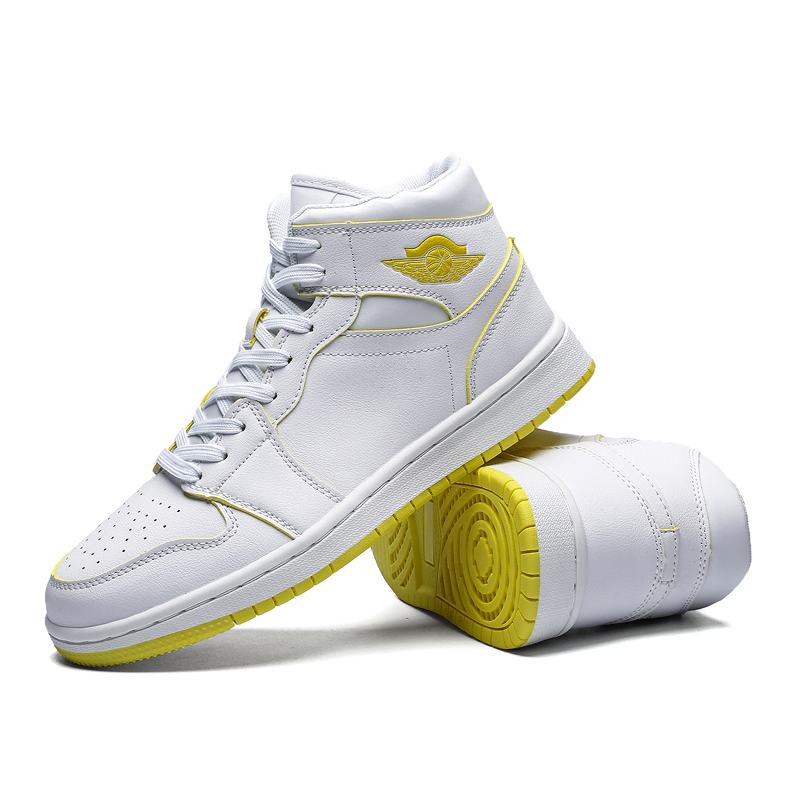 High Top Trend Basketball Shoes Men Women Breathable Air Cushion Basketball Sneakers Superstar Street Shoes Men Couple Trainers