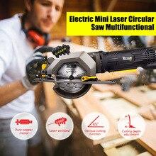 Woodworking-Tool Circular-Saw Electric Multifunctional Cutting Laser Metal Mini DIY