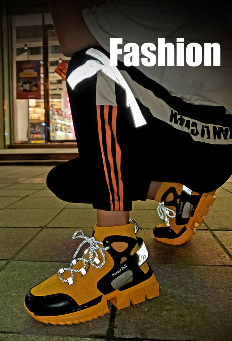 New Mens High Top Sneakers Trending Casual Sock Shoes Men Fashion 2020 Walking Breathable Designer Trainers Zapatos Para Hombre