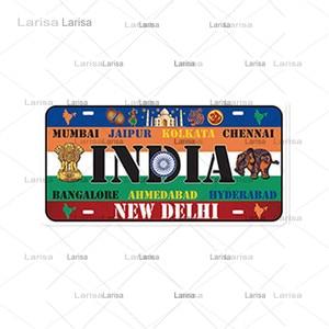 Национальные плакаты с флагом металлическая жестяная вывеска страны крытая настенная живопись кафе бар Декор железные таблички знак номер...