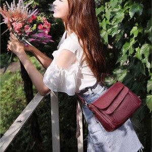 Image 3 - Sacs à Main de luxe en cuir pour femmes, sacoches à épaule de bonne qualité, sacs de styliste, offre spéciale 2019