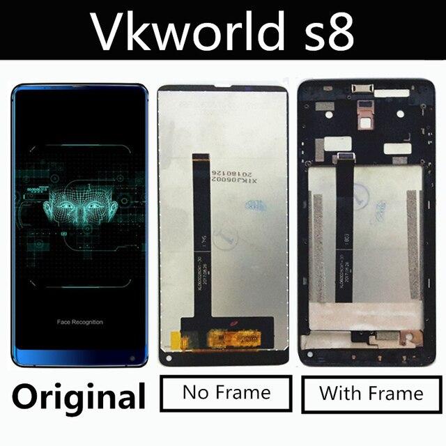 Original Für VKworld S8 LCD Display + Touch Screen + Werkzeuge Digitizer Montage Ersatz Zubehör Für Phon 5.99