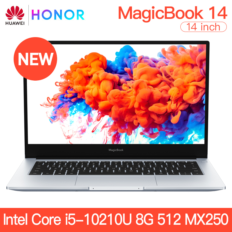 HONOR MX250 Notebook SSD HUAWEI I5-10210u 14--Intel-Core 8GB/16GB 2GB 512GB 1920x1080 title=