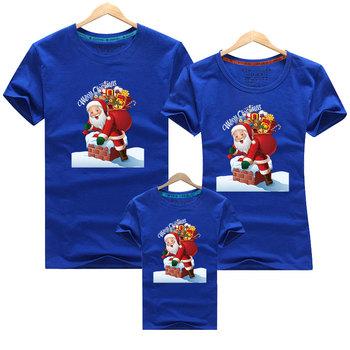 Boże narodzenie rodzinne stroje tata mama i ja ojciec matka córka syn boże narodzenie nowy rok koszulki stroje rodzina pasujące ubrania tanie i dobre opinie campure Damsko-męskie 7-12m 13-24m 25-36m 4-6y 7-12y 12 + y COTTON CN (pochodzenie) CZTERY PORY ROKU moda SHORT Dobrze pasuje do rozmiaru wybierz swój normalny rozmiar