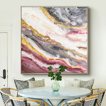 100% Hand Painted Abstract Art Oil Painting On Canvas Wall Art Frameless Picture Decoration For Living Room Home Decoration Gift