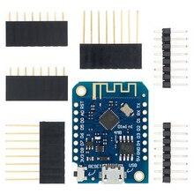 Wemos-tablero de desarrollo de Internet de las cosas D1 Mini V3.0.0 WIFI, basado en ESP8266 CH340 CH340G 4MB para Arduino Nodemcu V2 MicroPython