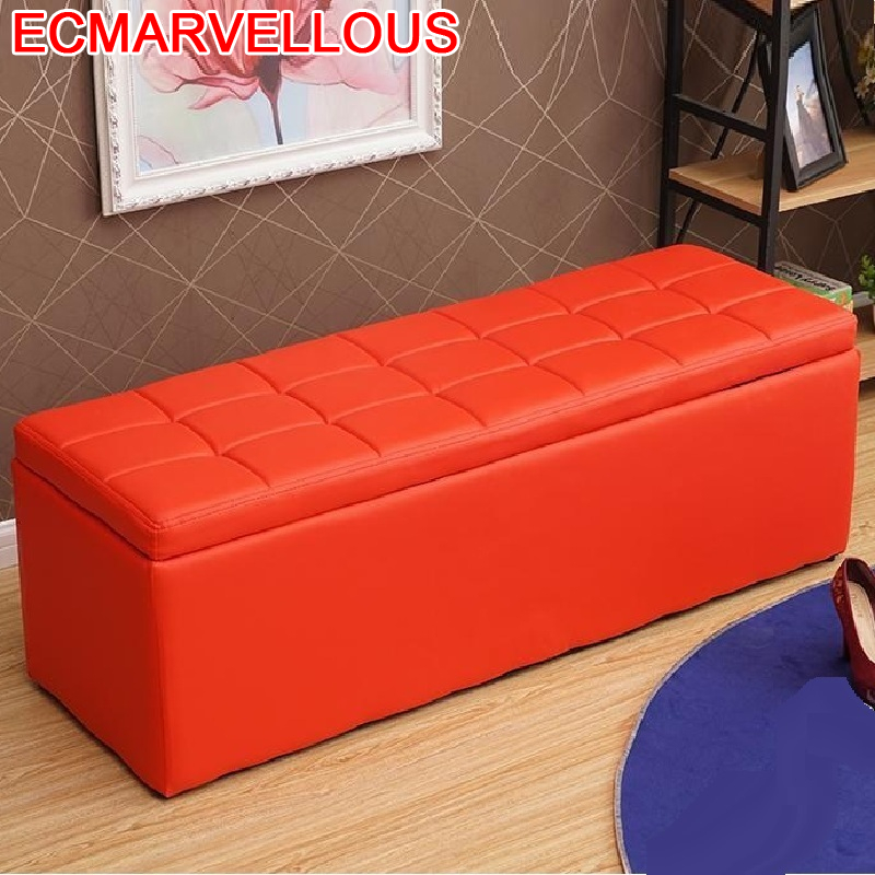 De Aluminio Taburet Moderno Fauteuil Gonflable Ottoman Living Room Chair Kids Furniture Pouf Poef Change Shoes Storage Stool