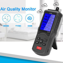 Multifunctional Air Quality Tester CO2 TVOC Meter Temperature Humidity Measuring Device Gas Detector