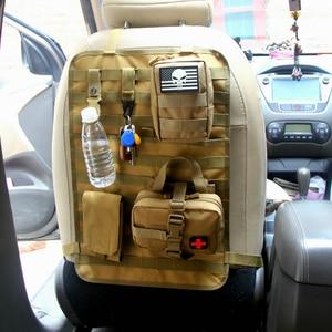 Image 3 - Organizador para banco traseiro de carro multifuncional, acessório para armazenamento militar pacote molle