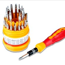 купить Multi-function Screwdriver  Set Hand Tool kit 31 in 1 Mobile Phone Computer Phone Repair Teardown Tool по цене 712.54 рублей