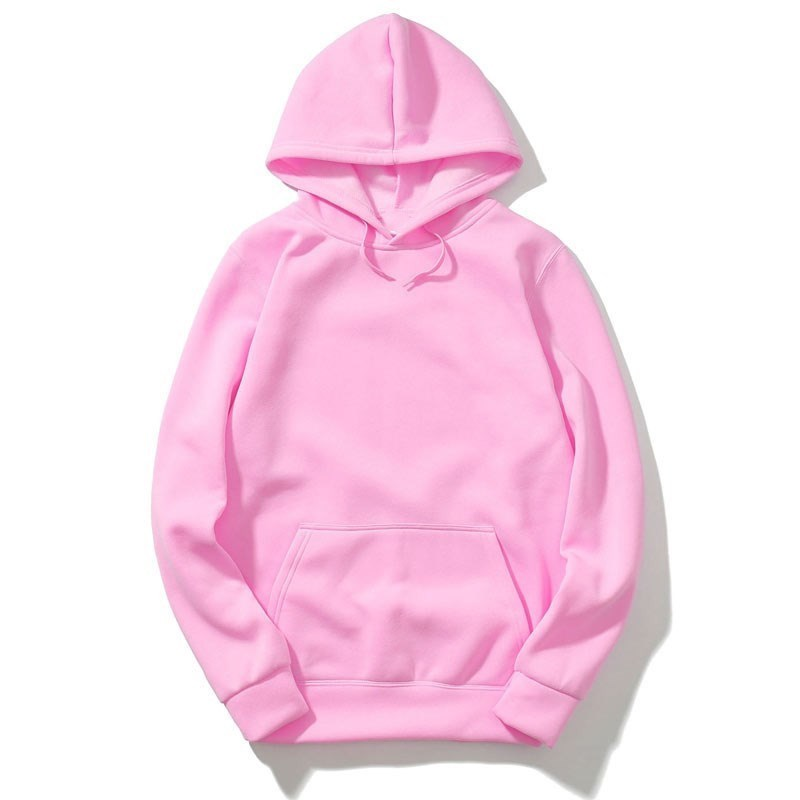 2019 New brand Hoodie Streetwear Hip Hop Solid pink Black gray Hooded Hoody Mens Hoodies and Sweatshirts top Size XXL