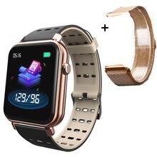 Y6 Pro Bluetooth Smart Watch Men Women Fashion Smartwatch HR Blood Pressure Hear