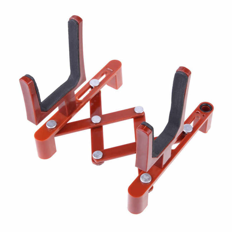 Profissional portátil dobrável violino suporte instrumento musical violino suporte de chão rack violinos guitarra acessórios